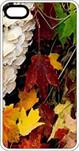 MMZ DIY PHONE CASEFall Leaves In Kentucky White Plastic Case for Apple iphone 6 4.7 inch