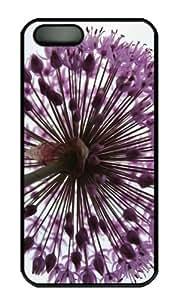 iPhone 5S Case - Customized Unique Design Onion Plant New Fashion PC Black Hard