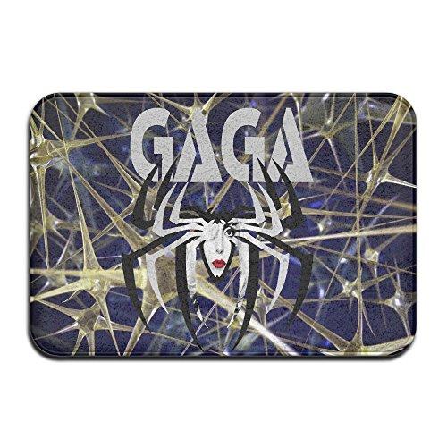 [MEGGE Lady Singer Gaga Non Slip Door Mat] (Gaga Dance Costumes)