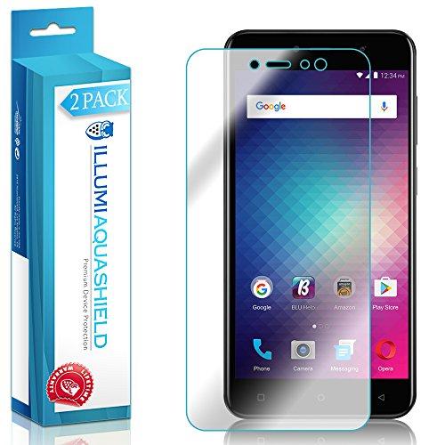 ILLUMI AquaShield Screen Protector Compatible with BLU Vivo 8L (2-Pack) No-Bubble High Definition Clear Flexible TPU Film