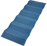 "Field and Stream Folding Camp Pad, Blue (Dimensions: 23"" x 71"")"