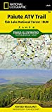 Paiute ATV Trail [Fish Lake National Forest, BLM] (National Geographic Trails Illustrated Map (708))