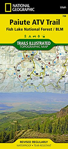 National Forest Trail Map (Paiute ATV Trail [Fish Lake National Forest, BLM] (National Geographic Trails Illustrated Map))