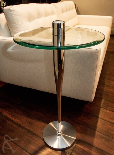 Baseball Bat High Polished Modern Art Martini Beer Side ManCave Sports End  Table