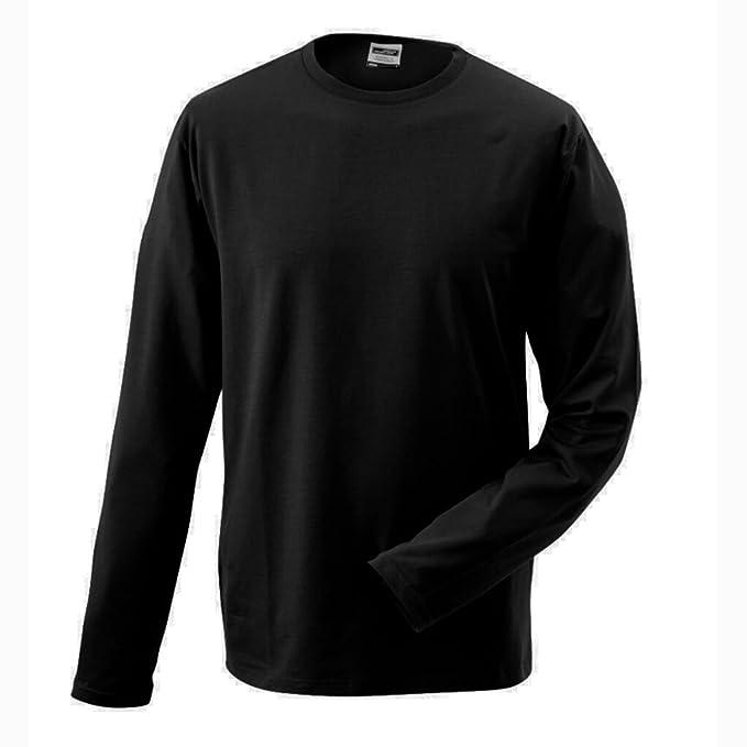 Amazon elastan amp; con JAMES it NICHOLSON Shirt Abbigliamento aderenti wUqngOx
