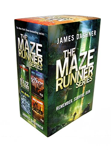The Maze Runner Series (4-Book) (Death Of The Family Graphic Novel Reading Order)
