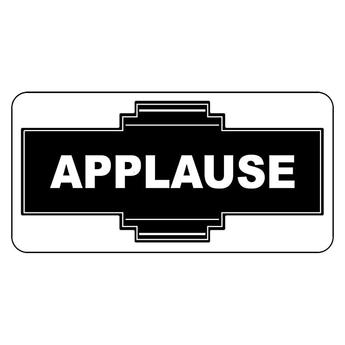 Amazon.com: Eletina Case Applause - Cartel decorativo de ...