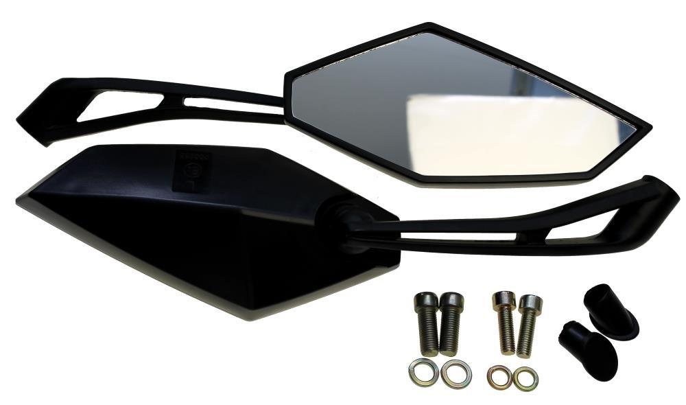 Motorrad Spiegel uni M8 M10 f/ür z.B Yamaha Suzuki Kawasaki BMW Aeon Aprillia Benelli Honda KTM Sachs Z/ündapp