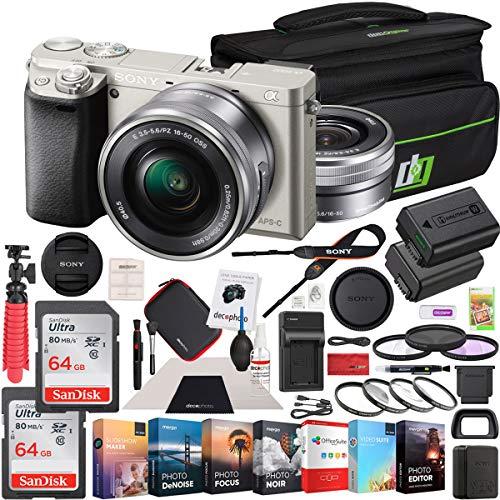 Sony Alpha a6000 Mirrorless Digital Camera 24.3MP SLR  with