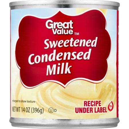 Great Value Sweetened Condensed Milk, 14 oz (10 Servings per Container) - Pack of 6 by Great Value (Image #7)
