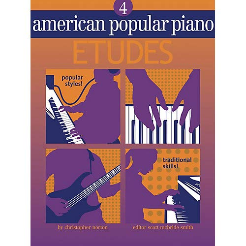 Novus Via Music - American Popular Piano - Etudes Novus Via Music Group Series Softcover Written by Christopher Norton Pack of 2