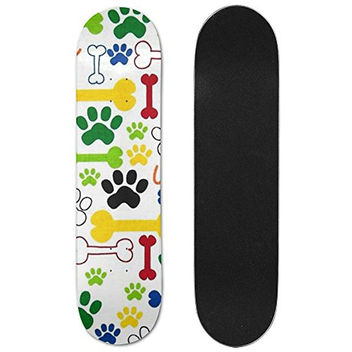 Dog Maple Games Skateboard Longboards Deck Print School Skateboard Long Plate Double Play Scooter - Tony Hawk Sunglasses