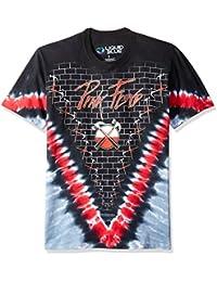 Men's Pink Floyd The Wall Hammer V Tie Dye Short Sleeve T-Shirt