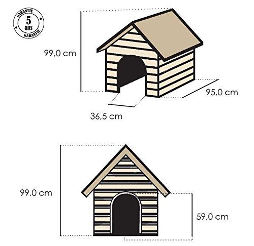 1fb35aa33 Keter - Casas de perros para jardín, Color topo / beige: Amazon.es: Jardín