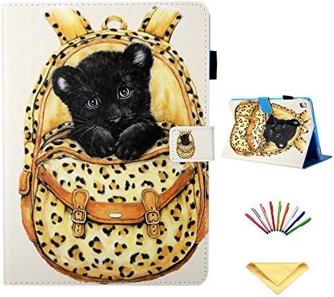 Uliking Leather Wallet Pocket Leopard