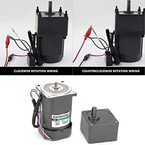 SSY-YU 機械の自動機械(15K)の包装食品機械用コンデンサでAC 220V 90W電気CW / CCWモーターギア減速モーター減速機モーター、 電動工具用