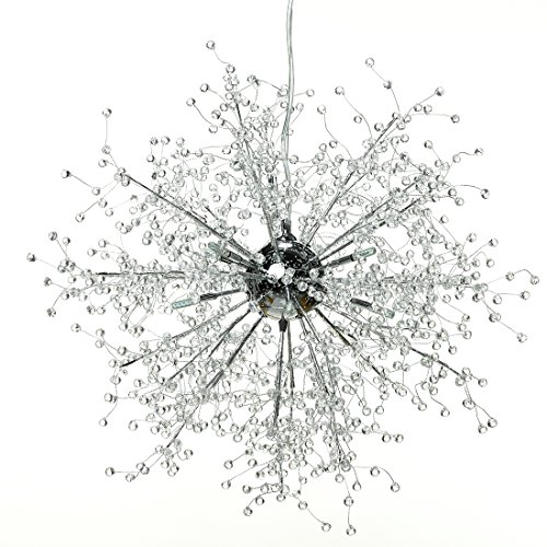 gdns chandeliers firework led light stainless steel