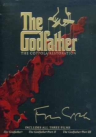 Amazoncom The Godfather The Coppola Restoration Marlon