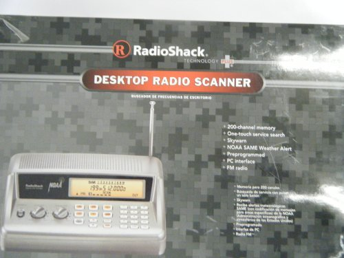 RadioShack® PRO-405 200-Channel Desktop Radio Scanner by RadioShack (Image #1)