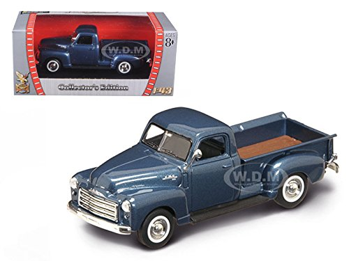 1950 GMC PICKUP TRUCK BLUE 1/43 DIECAST MODEL CAR ROAD SIGNATURE 94255 ()