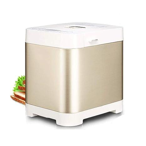 Digital Bread Maker con dispensador automático de ingredientes: 18 funciones predefinidas de 550W, que