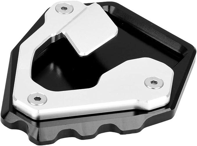Motorrad Fußplatte Cnc Aluminium Seitenständer Verlängerung Fußplatte Anti Rutsch Pad Für Honda Crf1000l Africa Twin Auto