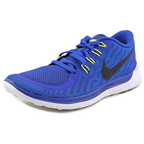 Nike Men's Free 5.0 Game Royal/Black/N Turq/Lt Rtr Running Shoe 8.5 Men US