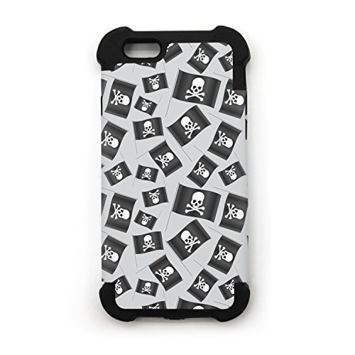 Black Small Pirate Flag With Skull And Bones IPhone 7 IPhone