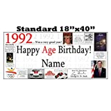 1992 PERSONALIZED BANNER by Partypro