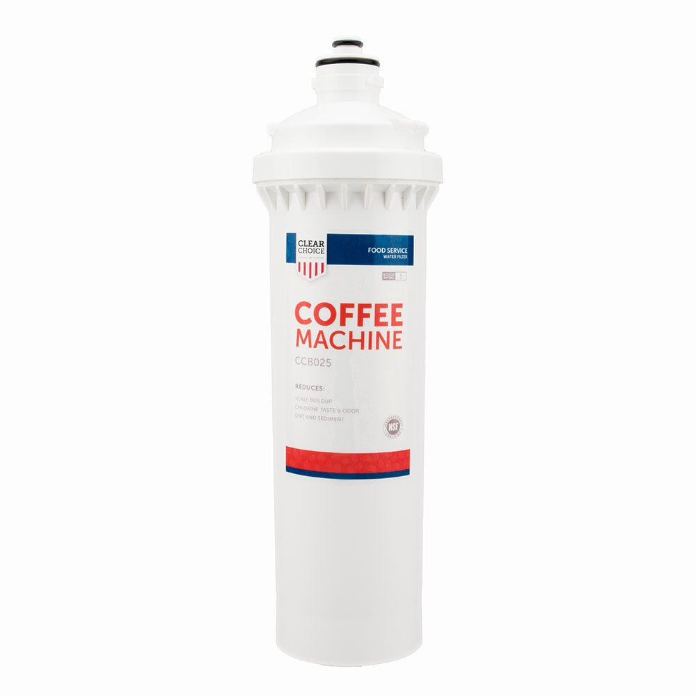 Clear Choice Coffee, Tea Filtration System Replacement Cartridge for Everpure EV9270-87 EV9617-21 EV9617-26 EV9618-21 EV9618-26 Also Compatible with 3M 70020017136, EcoLab 9320-2404 9320-2411, 1-Pack