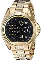 Michael Kors Access Touch Screen Gold Bradshaw Smartwatch MKT5002