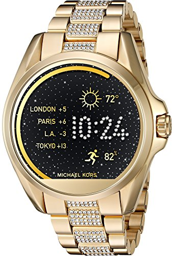 Michael Kors Access Touch Screen Gold Bradshaw Smartwatch MKT5002