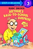 Arthur's Back-to-School Surprise, Marc Brown, 0375810005