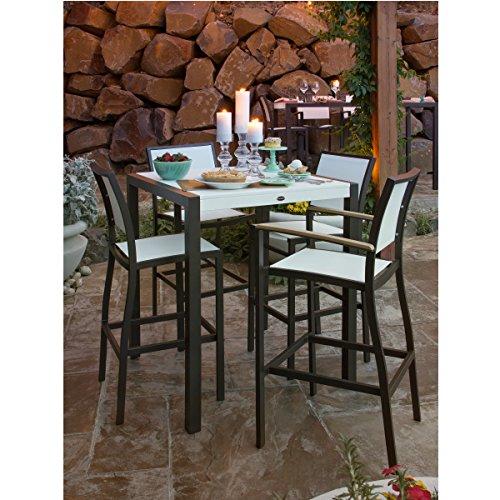 519TPnx7KML - POLYWOOD Bayline Outdoor 7 Piece Patio Dining Set