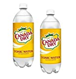 Canada Dry Tonic Water, 1 Liter (Pack of 2)