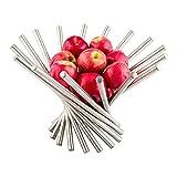 Fruit Display, Fruit Display Basket, Modern Design - Stainless Steel - Spoked - 1 ct Box - Met Lux - Restaurantware