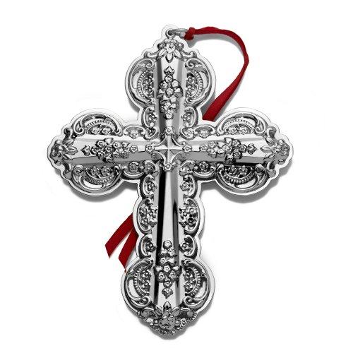 Wallace 2010 Grande Baroque Cross Ornament (15th Edition)
