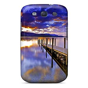 YSH2549PwhH Anti-scratch Case Cover Wade-cases Protective Lake Pier Case For Galaxy S3
