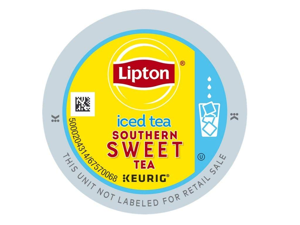 PACK OF 6 - Lipton Sweet Tea Iced k-cup tea 10 ct