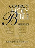 Compact Reference Bible King James Version Gold Edition, Flap Button and Flap Flap Button Staff, 0310911117