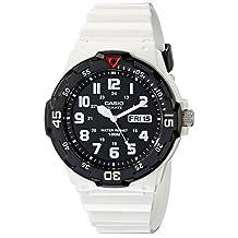Casio Men's MRW200HC-7B Classic Diver Inspired Watch, White