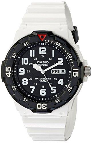 Casio Men's MRW-200HC-7BVCF Classic Stainless Steel White (100m White Dial Watch)