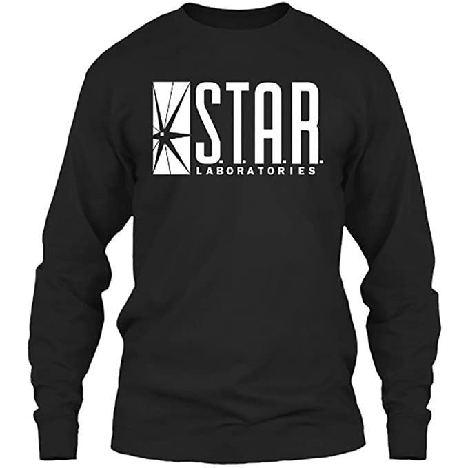 6069fd470 Star Laboratories Star Labs Long Sleeve Shirt Crew Neck S.T.A.R Labs -  Premium Quality