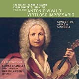 The Rise of the North Italian Violin Concerto 1690–1740, Volume Two: Antonio Vivaldi – Virtuoso Impresario