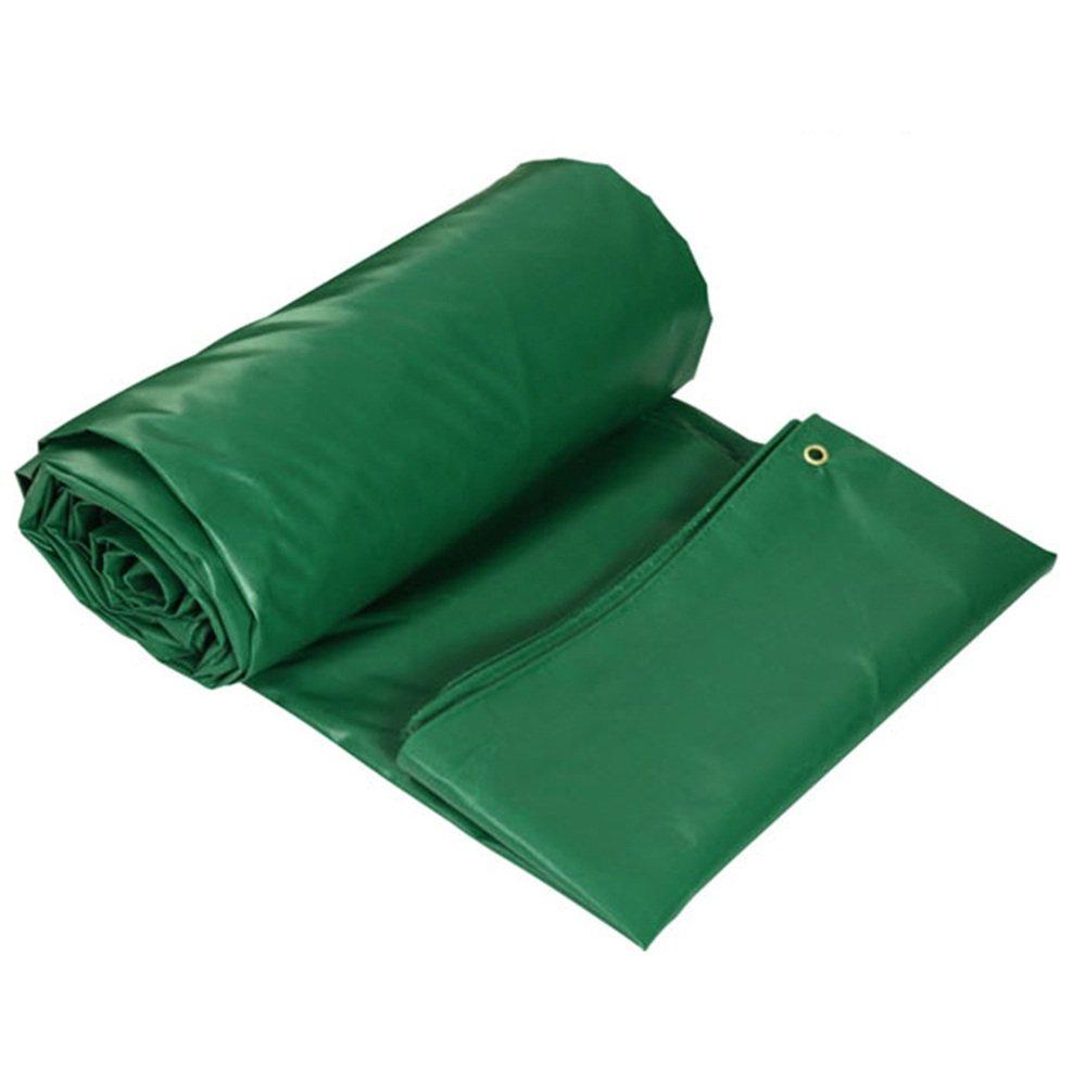 QX pengbu IAIZI Plane-Starker Wasserdichter Stoff grüner PVC-überzogener Plastikstoff   450g Wasserdichter Sonnenschutz 0.4mm Oxford-Schatten-Stoff im Freien
