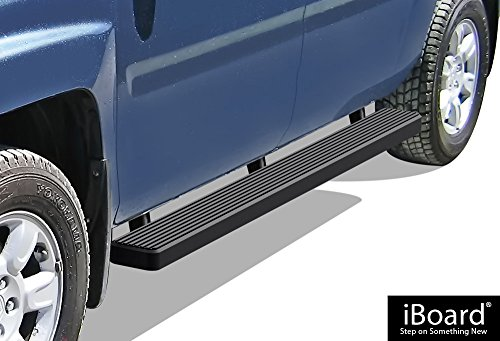 "APS iBoard Running Boards 5"" Matte Black Custom Fit 2006-2014 Honda Ridgeline Crew Cab Pickup 4-Door (Nerf Bars 