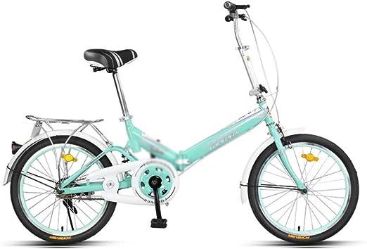 DT Plegable Bicicleta Bicicleta Adulto Portátil Masculino y ...