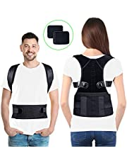 Lepfun PC550 Back Posture Corrector Spinal Support,Physical Therapy Posture Brace for Men Or Women - Back, Shoulder, and Neck Pain Relief