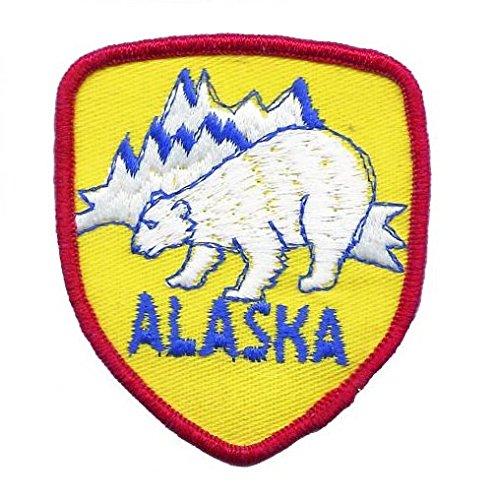- Alaska Polar Bear Patch (Iron On)