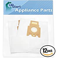 24 Replacement Type K Vacuum Bags for Miele - Compatible with Miele S163, Miele Swing H1 QuickStep, Miele S168, Miele S198, Miele Type K/K, Miele S193, Miele S190, Miele S163i, Miele S164, Miele S157, Miele S148, Miele S147, Miele S146, Miele S145, Miele S144, Miele S143